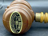 Ezra Brooks 101 Bourbon Whiskey Gavel Vintage Displays Fabulously