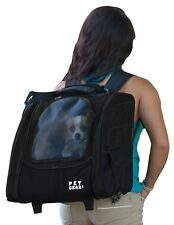 Pet Gear I-GO2 Roller Backpack, Travel Carrier, Car Seat for Cats/Dogs, Mesh ...