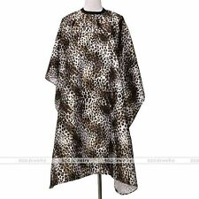 Pro Leopard Hair Cut Cape Salon Hairdressing Hairdresser Gown Barber Adult Cloth