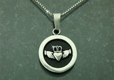 Stainless Steel Claddagh Pendant No Chain