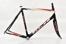 2007 Fuji Team Pro Carbon Frameset 58cm Carbon/Red/White