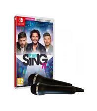 """Juego Nintendo switch """"Lets Sing 11 V.e."""" micros"""