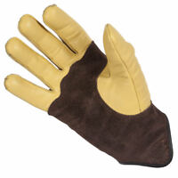 Spada Summer Wyatt Motorcycle Motorbike Lining Leather Gloves - Tan