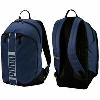 Puma Deck Backpack II 2 Strap Rucksack Peacoat Unisex Bag 075102 05 A25A