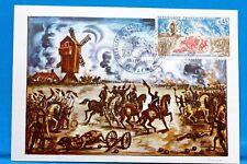 FRANCE CPA   Carte Postale Maximum BATAILLE DE VALMY  Yt 1679 C