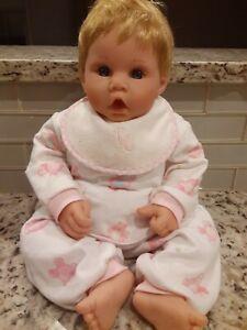 """Lee Middleton Baby Doll 18"""" Treasured Child by Reva Schick 1999 Girl  T/S"""