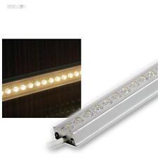 LED ALU Lichtleiste 1m warm-weiß 12V 108 LEDs IP65 zB indirekte Beleuchtung