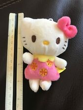 Hello Kitty Small Plush Toy Key Chain Charm Good for DIY bouquet (Lot of 10)