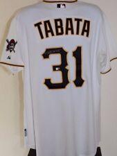 Jose Tabata Pittsburgh Pirates Autographed Size 52 Signed Majestic MLB Jersey