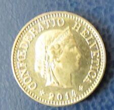 Schweizer Franken 2014 5 Rappen für Sammler aus Umlauf