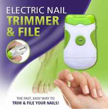 Electric Nail Trimmer & File Nail File Manicure Pedicure - [80%OFF]