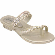 Scarpe Infradito in argento per bambini dai 2 ai 16 anni
