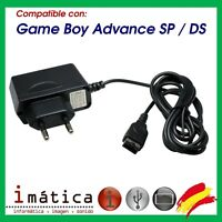 CARGADOR PARA NINTENDO GAME BOY ADVANCE SP Y DS NDS ANTIGUA DE PARED RED GBA