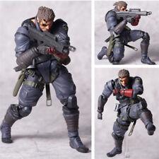 Revoltech Vulcanlog 004 MGS Metal Gear SOLID Snake Action Figure Figurine IB