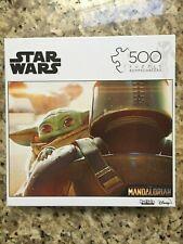 Buffalo Games 500 Piece Jigsaw Puzzle Star Wars Mandalorian Baby Yoda Child