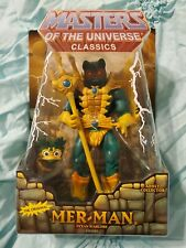 2008 Masters Of The Universe Classics Mer-Man MOTU He-Man Mattel