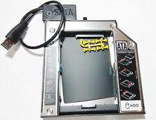 USB 3.0 Cable +Ultrabay Slim SATA 3.0 III 2nd Hdd Lenovo ThinkPad T520s T530s