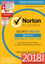 NORTON SECURITY Deluxe 3.0, 3 Geräte, 1 Jahr, (2018) Download