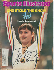 NADIA COMANECI - Sports Illustrated (August 2, 1976) - SIGNED