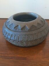 Primative Vintage Stone Decorative Bowl | Dish Rustic Antique Hand Hewn
