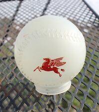 Glass Mobil Gas Pegasus Baseball Bank Top