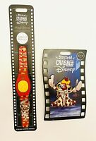 DISNEY STITCH CRASHES DISNEY Lady & THE TRAMP LTD RELEASE MAGIC BAND & PIN SET