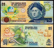 BAHAMAS 1 DOLLAR ND(1992) COMMEMORATIVE P50 UNC
