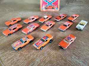 Ertle General Lee 1/64 lot Johnny Lightning Hot Wheels Dixie 1981 2000 1997