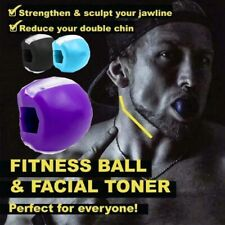 Jawzrsize Jaw Line Exercise Ball Muscle Training Fitness Ball Neck Tone