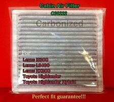C38222 AC  Carbonized CABIN AIR FILTER For IS300 LS400 RX300 HIGHLANDER