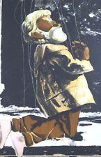 PIERRE GAUCHAT-BUCHERON JOSEPH-MARIONNETTES-ORIG.LITHOGRAPH-MOURLOT 1949-VELIN