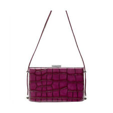 Olga Berg Women's Designer Hand / Shoulder Bag Satchel Tote Grape OB4213