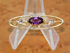 Antique-Edwardian-Style-P in-Faceted-Purple-Stone