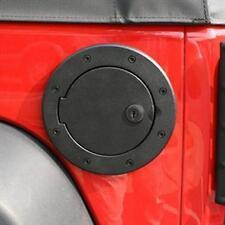 Rugged Ridge Locking Gas Cap Door 2007-2017 Jeep Wrangler JK 11425.06 Black