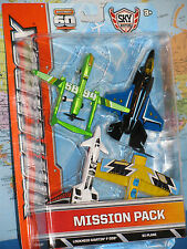 MATCHBOX MISSION PACK SKYBUSTERS LOCKHEED MARTIN F-35B TWIN BLAST DRONE 4 PACK