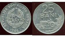 ROUMANIE  25 bani  1966