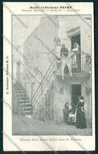 Palermo Costumi Siciliani cartolina QQ0938