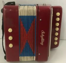 Schilling Toy Accordian In Very Nice Condition