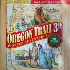 Oregon Trail 3rd Edition Pioneer Adventures (PC Games, 1998) For Windows And Mac