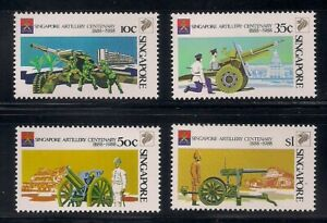 Singapore   1988   Sc # 518-21    MNH   (8140-4)