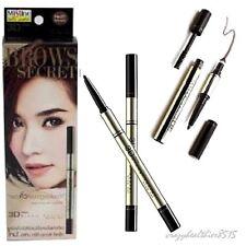 Mistine 3D Brows Secret Eyebrow Set 3in1 Pencil Shadow Mascara 01 Dark Brown