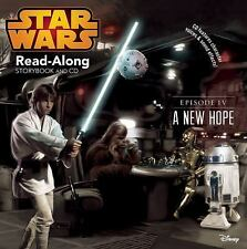 Read-Along Storybook and CD Ser.: Star Wars: a New Hope Read-Along Storybook and CD by Disney Book Group Staff and Randy Thornton (2015, Trade Paperback)
