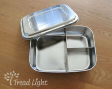 Eco Friendly Stainless Steel Large Bento Snack Lunch Box