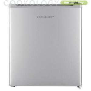 Cookology MFZ32SL Grey Silver Table Top Mini Freezer | 32 Litre 4 Star