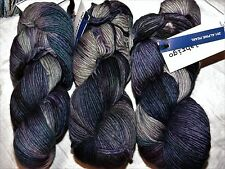 Beauty! ALPINE PEARL 210yd Skein Malabrigo WORSTED Kettle-Dyed MERINO SOFT YARN