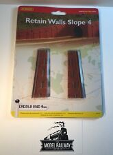 Hornby LYDDLE END - N8728 - RETAIN WALL SLOPE 4 - NEW CARDED DISCONTINUED