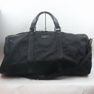 Gucci Boston Bag  Black Nylon 1510071
