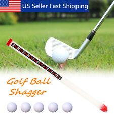 Portable 21 Golf Ball Picker Sport Practice Shag Shagger Pick Up Tube Storage