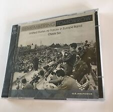US Air Force Band CD Europe Remembering Tomorrow Check Six New 2 Discs OOP