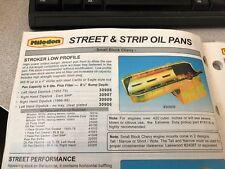 Milodon SBC  oil pan 30909 Stroker Low Profile Dart SHP Chevy